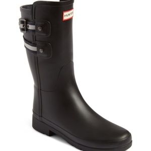 LIKE NEW Hunter Original Refined Short Rain Boot
